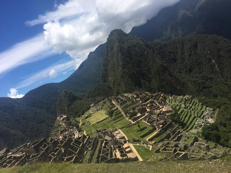El Machu Picchu!